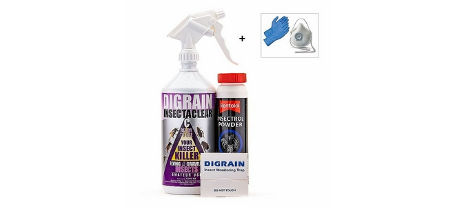 Silverfish Killing and Control Kit
