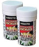 Fly & Flying Insect Smoke Bombs x 2